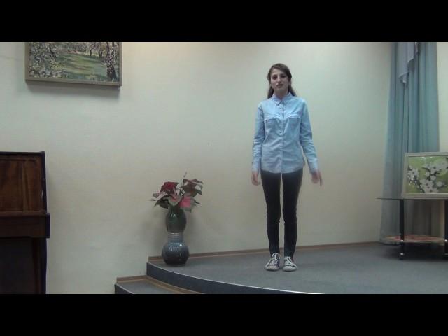 Изображение предпросмотра прочтения – ХристинаСариева читает произведение «Девушка пела в церковном хоре» А.А.Блока