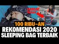 BISA 5°C SLEEPING BAG 100 RIBU-AN !!! HANGAT, RINGAN DAN SIMPLE !!! SLEEPING BAG MAKALU DAN ZLATAN