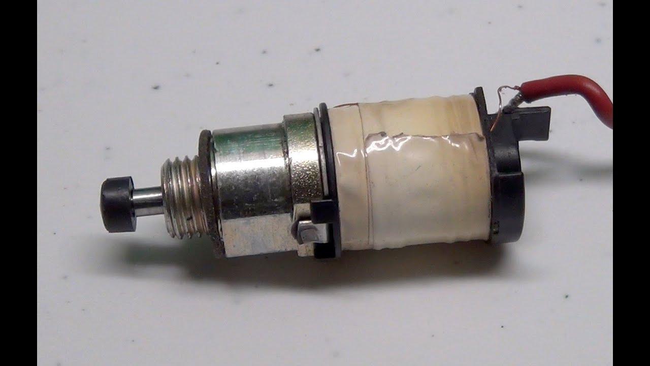 Kohler Courage Single Cylinder Engine Fuel Solenoid