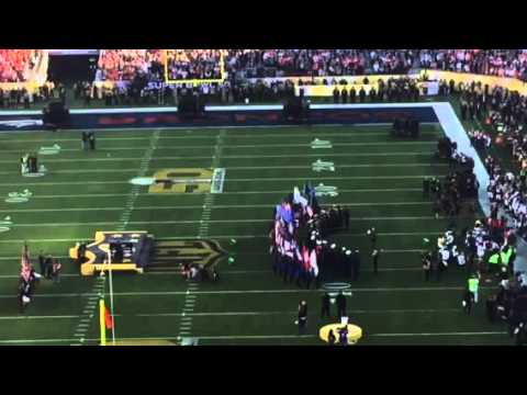 """America The Beautiful"" At Super Bowl 50 #SB50"