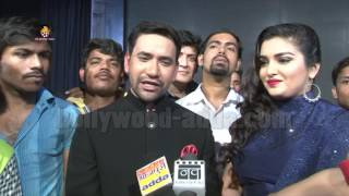 Nirahua Satal Rahe Bhojpuri Film (2016) - EXCLUSIVE Interview - Dinesh Lal Yadav & Amrapali Dubey