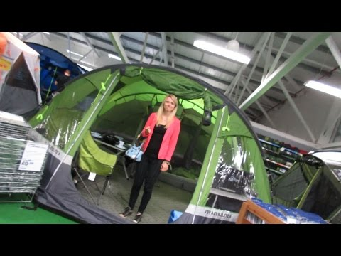 GLASTONBURY FESTIVAL TENT SHOPPING! (247)