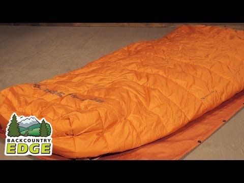 Big Agnes Buffalo Park Sleeping Bag 40 Degree Synthetic