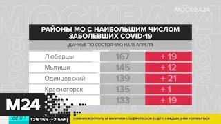 В Подмосковье за сутки выявили 272 новых случая заражения коронавирусом - Москва 24