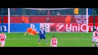 Arsenal 3 2 Anderlecht Anthony Vanden Borre  Penalty Goal Champions League  05 11 2014