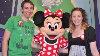 Walt Disney World Vlogs September 2013: Day 7 - Epcot and Eating Around The World (Episode 69)