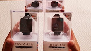 unboxing itouch air special edition smartwatch