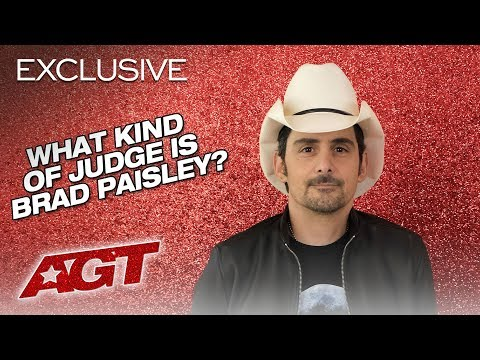 What Kind of Judge is Brad Paisley?! - America's Got Talent 2019