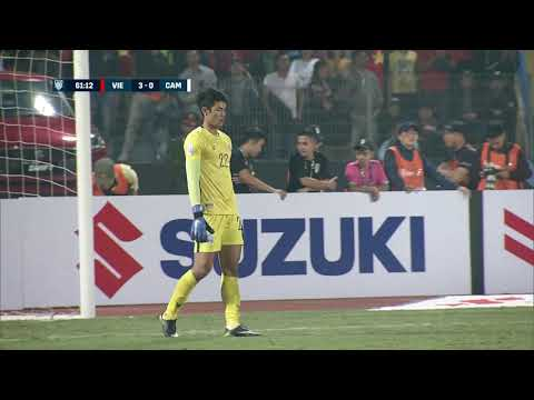 Van Duc Phan 61' vs Cambodia (AFF Suzuki Cup 2018 : Group Stage)