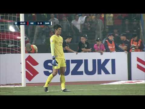 Van Duc Phan 61' vs Cambodia (AFF Suzuki Cup 2018 : Group Stage)