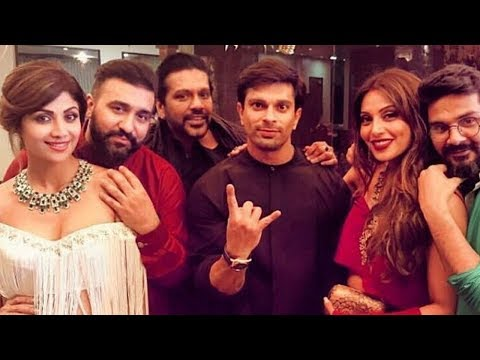 Shilpa Shetty's GRAND Diwali Party 2017 Full Video HD