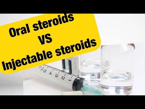 Pill steroids vs injection steroids british dragon tren 200