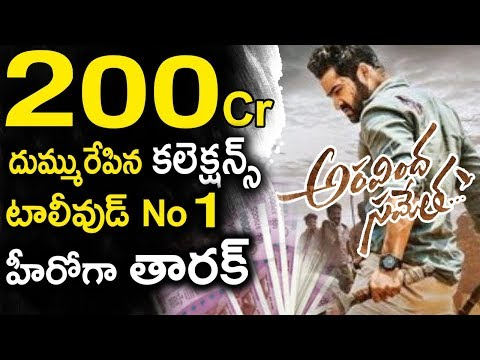 Aravinda Sametha Movie Worldwide Box Office Collections | Jr NTR | Trivikram | Tollywood Nagar