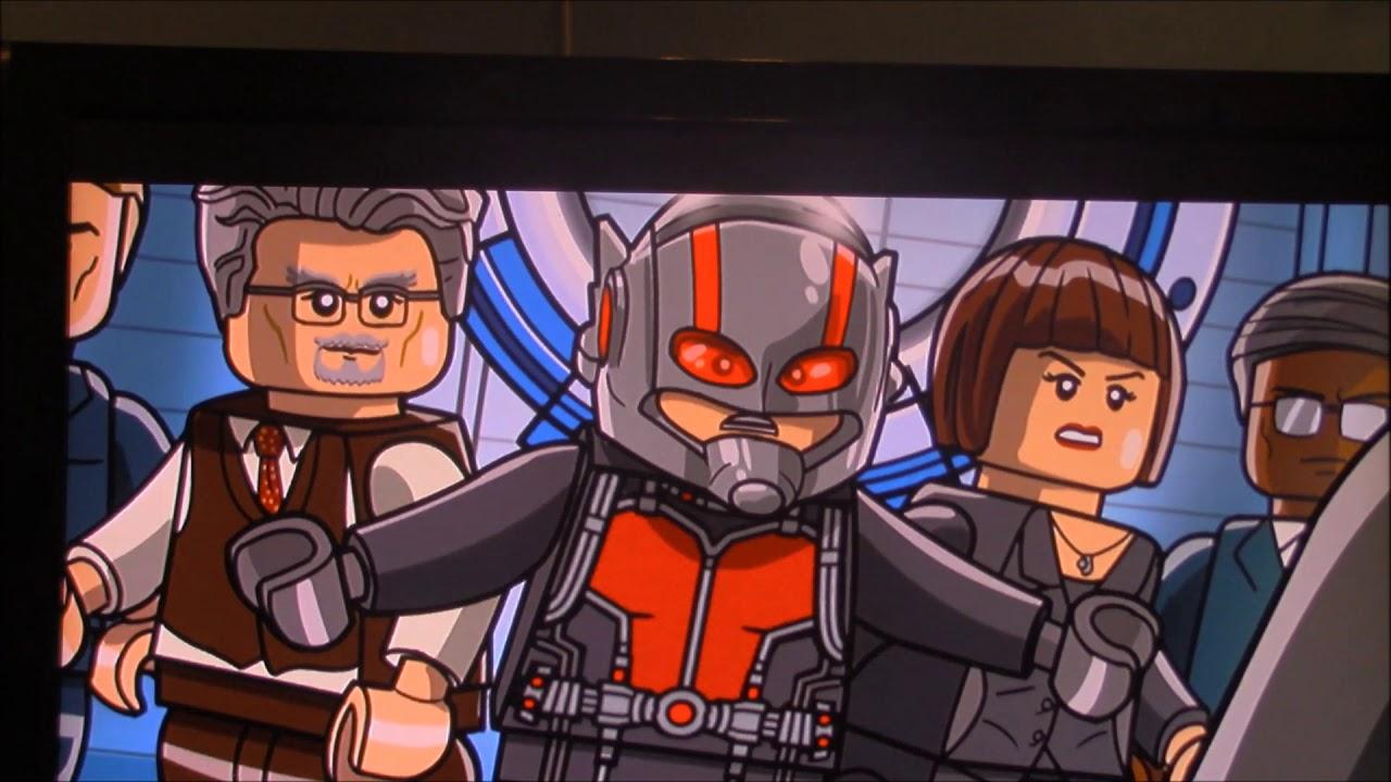 Panda Power #92 Lego Marvel Avengers Ant Man and Black ...
