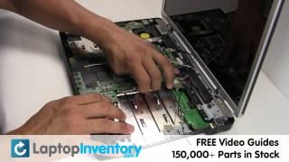 Dell Inspiron 1525 1545 Fan Replacement Repair - Fix CPU Cooling Fan Heatsink Notebook Laptop