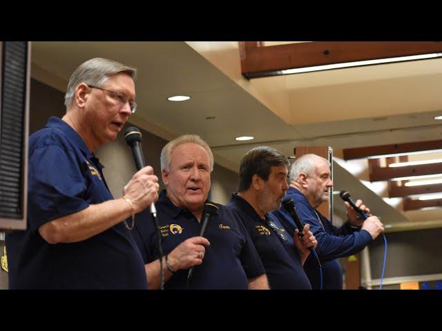 2020 General Butler Bash -- Jan/20 -- Jack Pladdys, Tom Davis, Mark Patterson, Wes Dyer