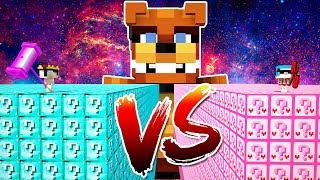 FREDDY VS LUCKY BLOCKS 😱 MINECRAFT FNAF
