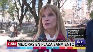 C5N - El Diario: mejoras en la plaza de Sarmiento 2017 Video