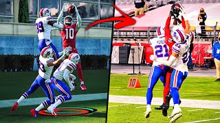 RECREATING THE TOP 10 PLAYS FROM NFL WEEK 10!! Madden 21 Challenge