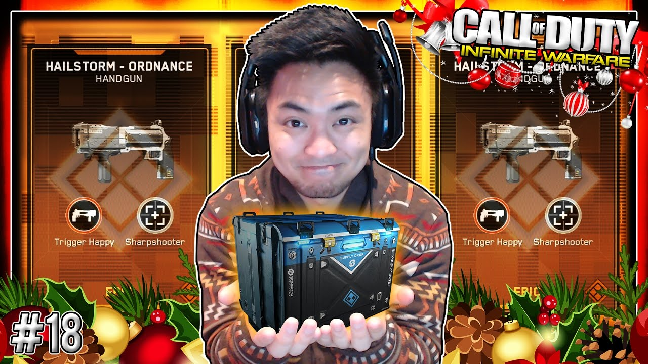 DAY 12 of 12 DAYS OF CHRISTMAS! [Infinite Warfare Supply Drop ...