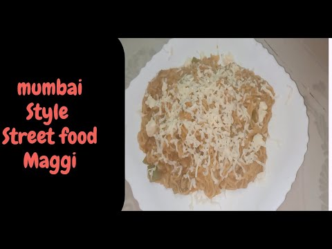 Maggi | Mumbai Street Food |Maggi Masala With Cheese | home How To Prepare