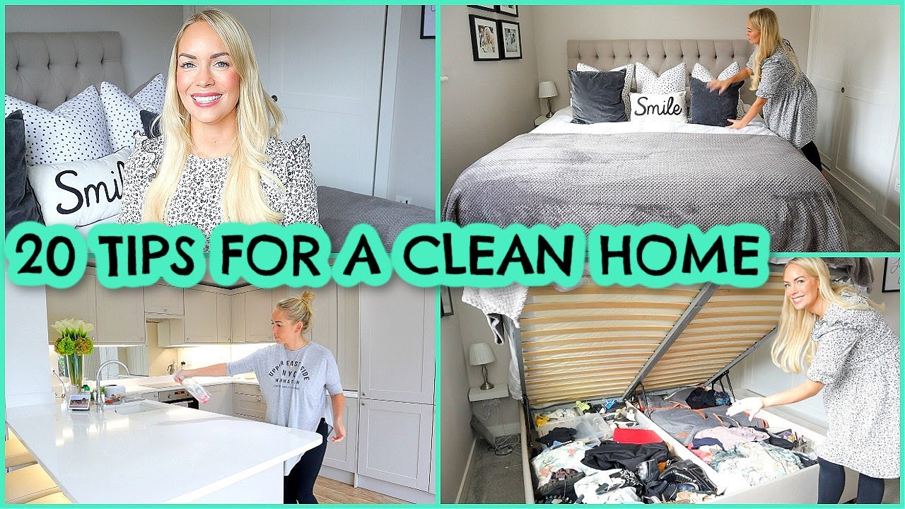 Download 20 TIPS FOR A CLEAN HOME   HABITS FOR KEEPING A CLEAN HOUSE