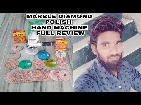 How to marble diamond polishing, hand machine diamond polish Raunak Star