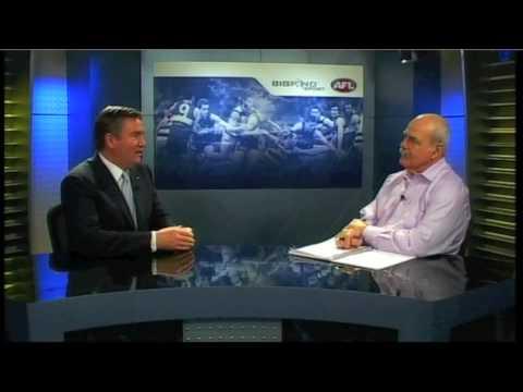 Leigh Matthews interviews Eddie McGuire pt1