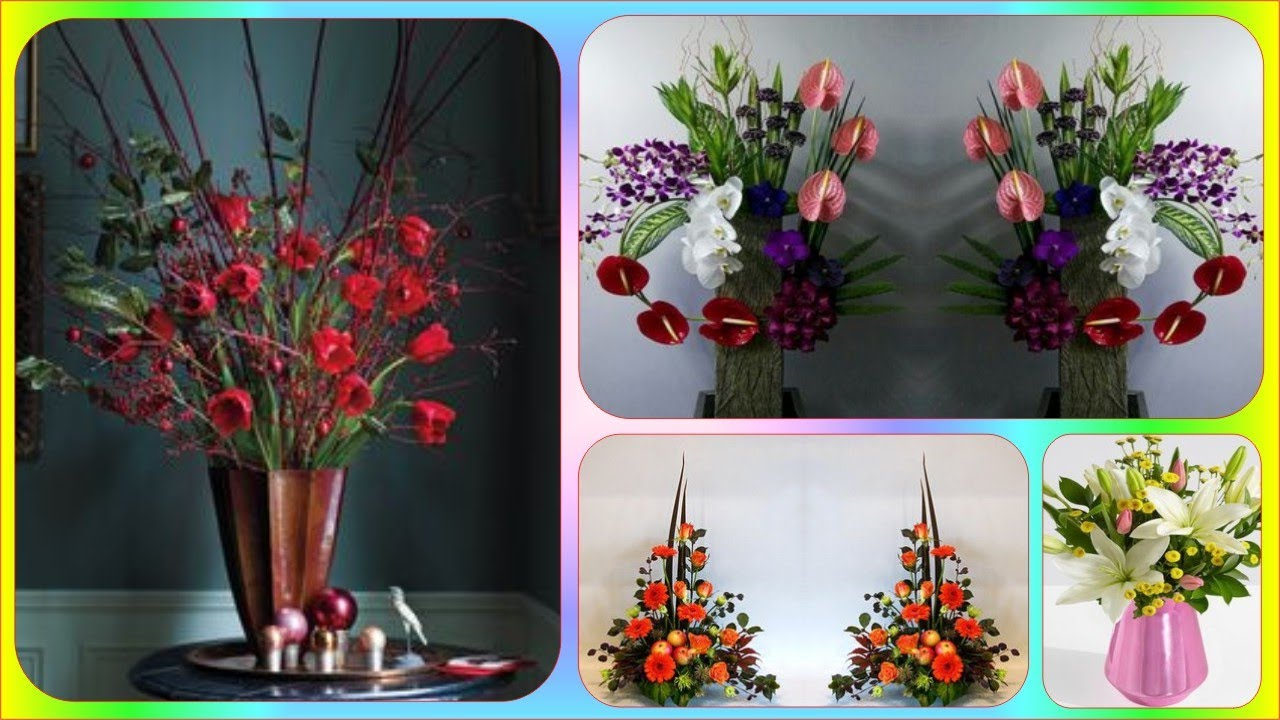 Modern Dried Flower Arrangements Vase Dried Flowers For Tall Vases Dried Flower Centerpieces Youtube