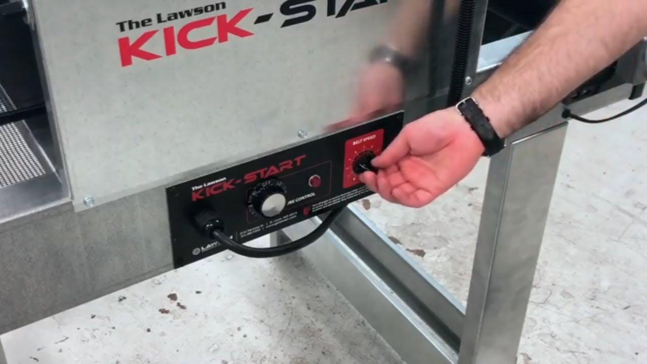Kick Start Screen Printing Conveyor Dryer Overview Youtube