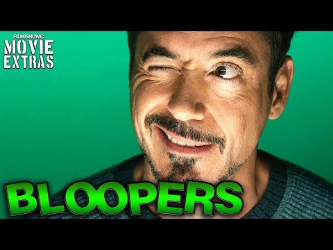 Robert Downey Jr. (aka Tony Stark) | Funny Bloopers \u0026 Outtakes from the genius billionaire playboy