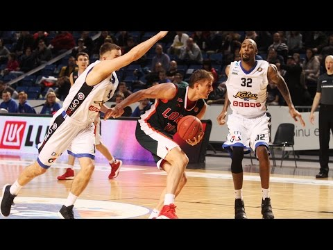 Kalev vs Lokomotiv-Kuban Highlights Jan 15, 2017