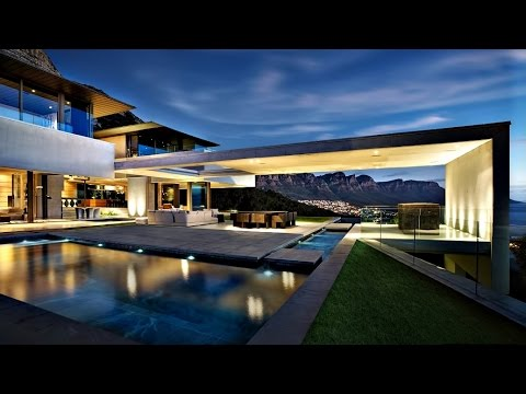 Spectacularly Stunning Ultra Modern Contemporary Luxury Residence in Cape Town, South Africa