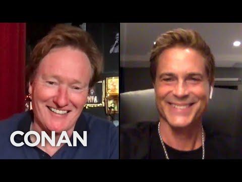 #CONAN: Rob Lowe Full Interview - CONAN on TBS