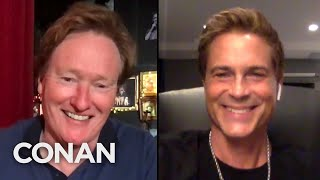 #CONAN: Rob Lowe Full Interview - CONAN on TBS