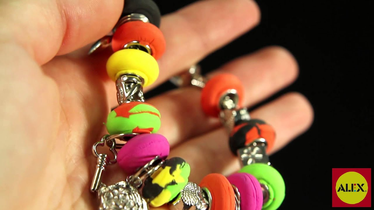 Alex Toys I Heart Charm Bracelets Craft Kit #736l