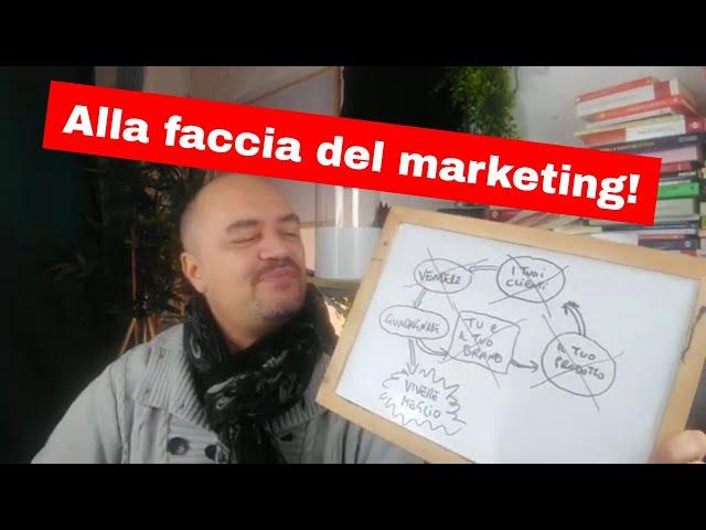 No brand, NO Ads, NO prodotto, NO marketing, SOLO guadagno?