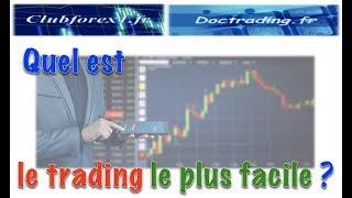 Quel est le trading le plus facile