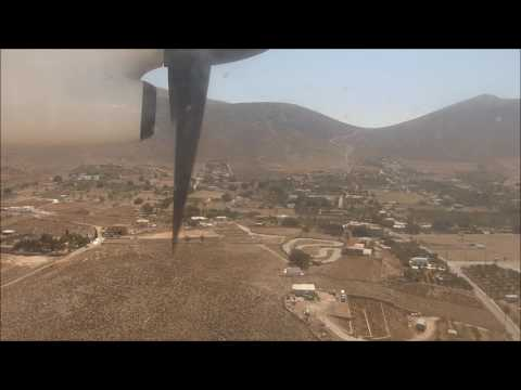 Inter Islands flight: Olympic Air 036 Rhodes to Astypalaia (leg2: Kos to Kalymnos)