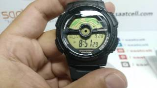 casio ae 1100w 1b digital kol saati incelemesi ve ayarlanması