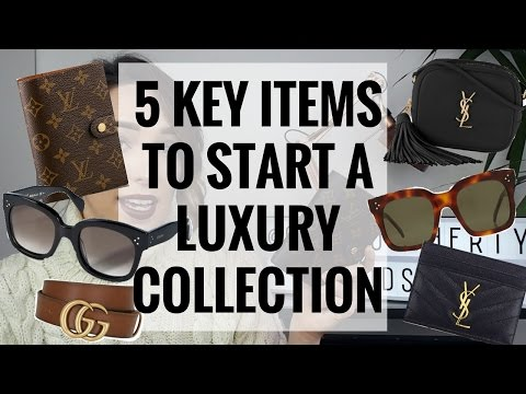 5 KEY PIECES TO START YOUR LUXURY COLLECTION  🛍 👜  | CIARA O DOHERTY