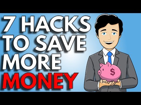7 Hacks To Save Money on A Low Income | How To Save Money Fast on a Low Income