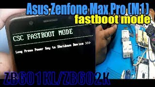 Asus csc fastboot mode fix