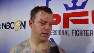 PFL 7: Atlantic City - Sean O'Connell Post-Fight Interview