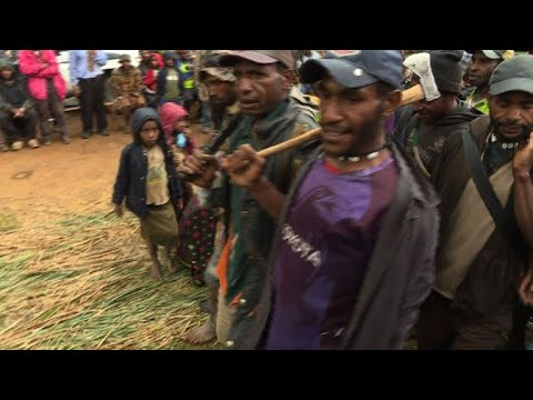 From Arrows To M16s: PNG Tribal Fights Get Ever Deadlier