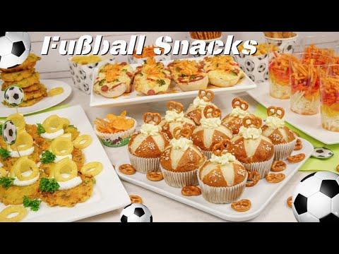 Fußball EM 2021 - leckere Snacks zum Fußball gucken
