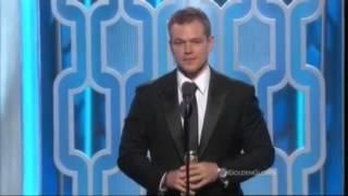 Matt Damon Wins