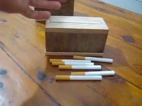 Как сделать сигаретницу своими руками