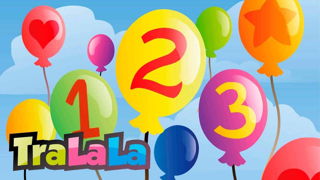 1, 2, 3 - Cântece pentru copii | TraLaLa