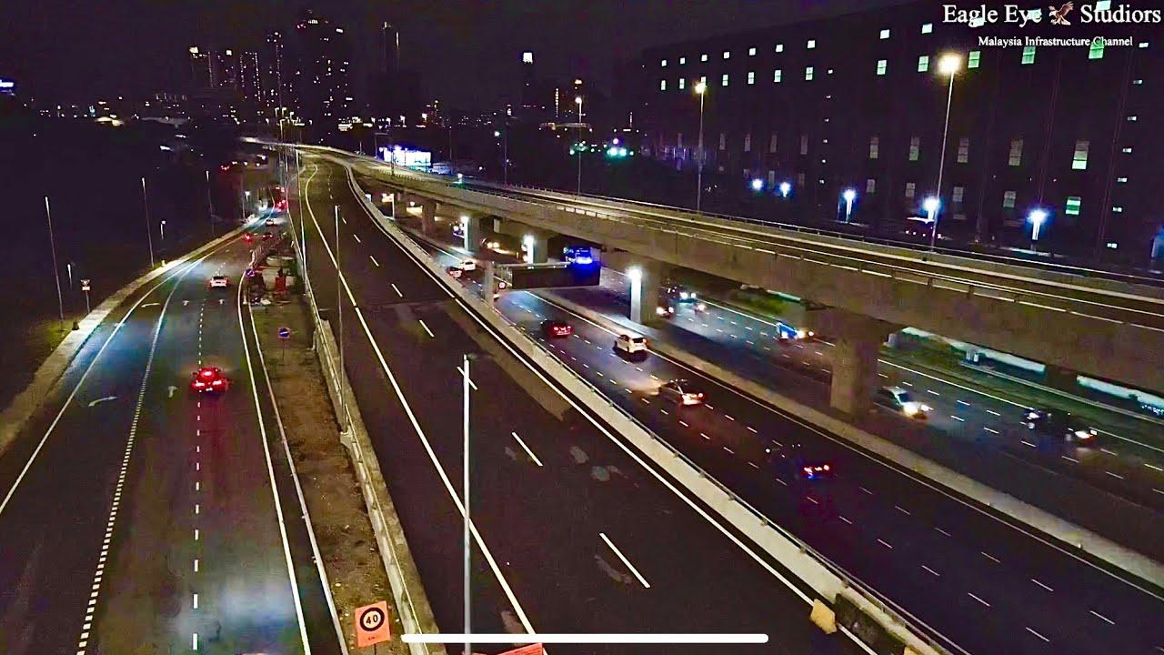 Download SUKE Highway Almost Completed ( persimpangan Ukay / MRR2 ) night view October 2021